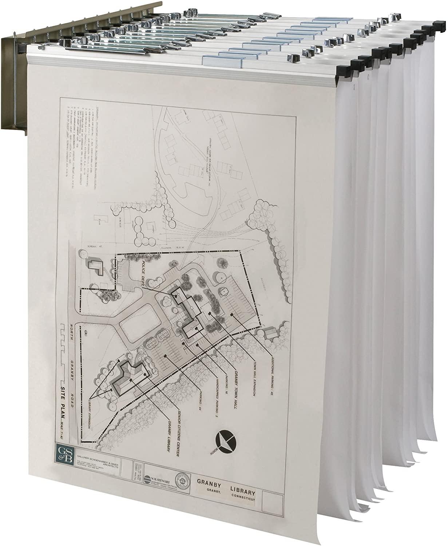 Wall Pivot Rack f/Prints