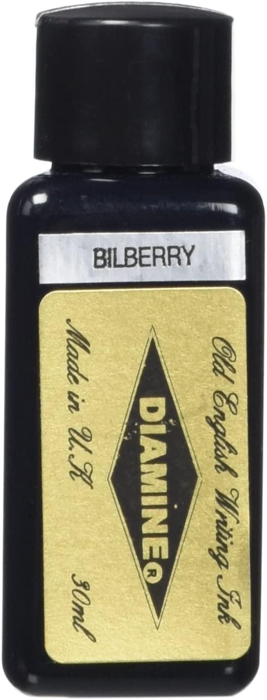 Diamine 30 ml Bottle Fountain Pen Ink, Bilberry