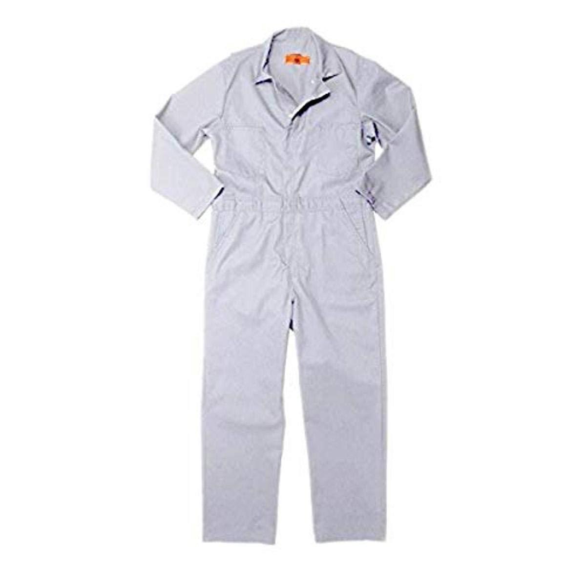 Pinnacle Textile CV10 7.5 OZ Twill 65/35 Polyester/Cotton, COVERALL-Sizes-46-White