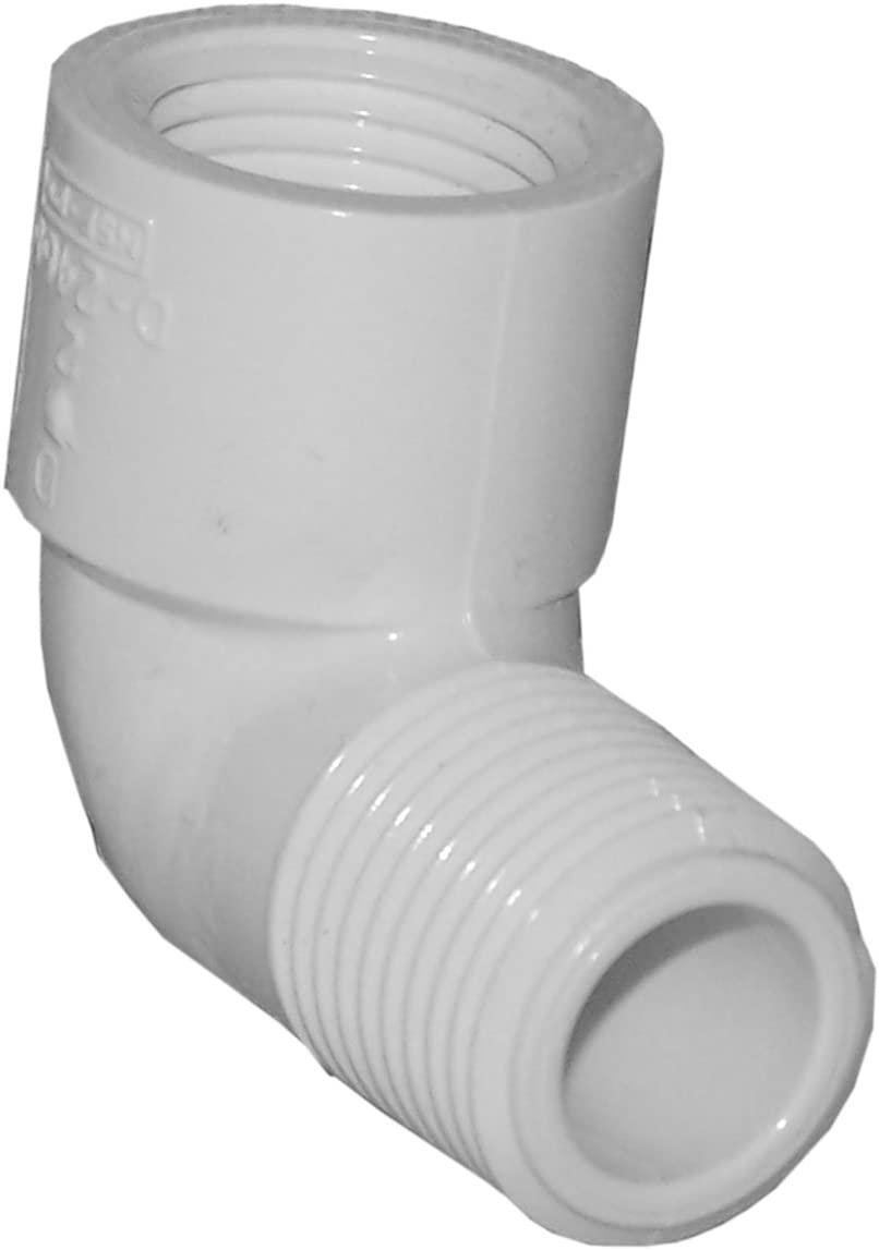 Genova Products 32705 PVC 90 Degree Street Elbow