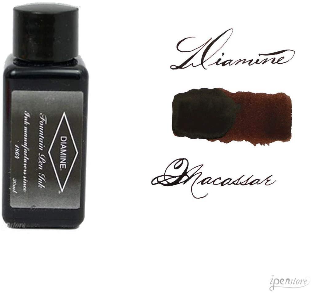 Diamine 30 ml Bottle Fountain Pen Ink, Macassar