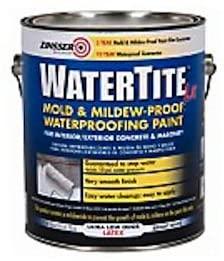 zinsser & co 270267 Watertite, Gallon, Latex Mold & Mildew Proof Waterproofing Paint
