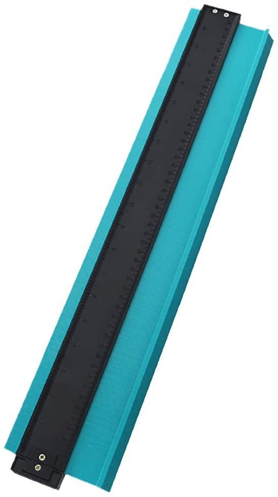 SANNYSIS 20 Inch ABS Plastic Contour Copy Duplicator Circular Frame Profile Gauge Tool