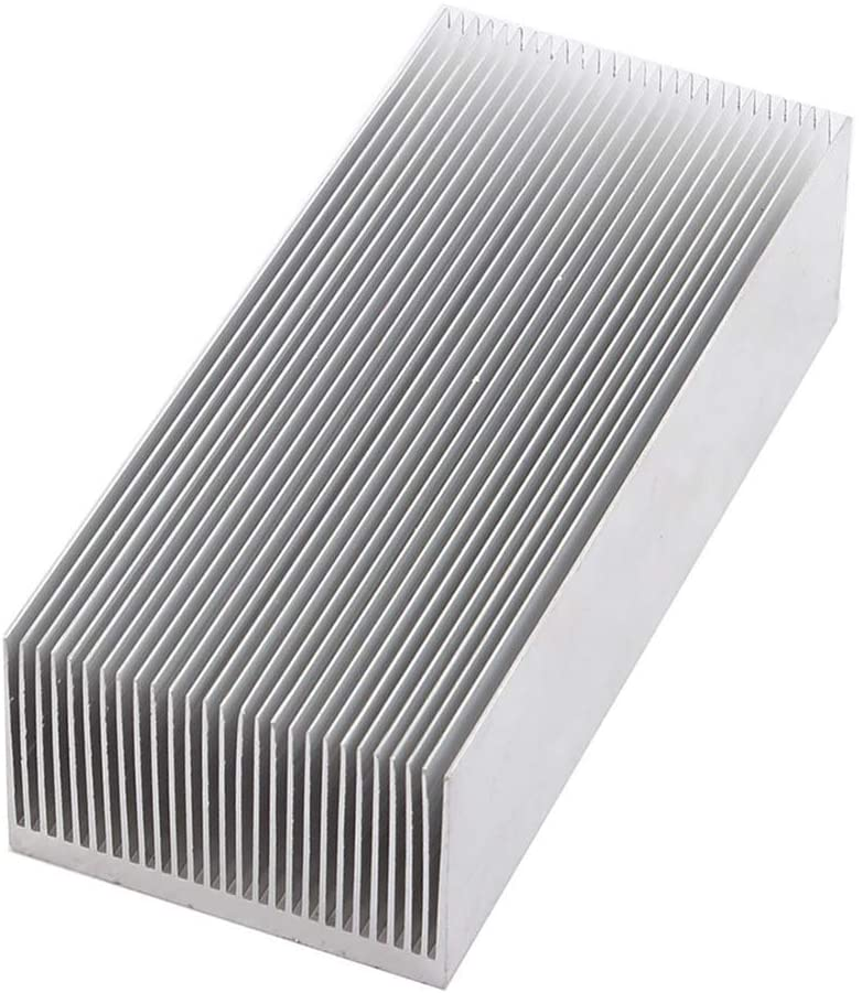 tatoko Aluminum Heat Sink Heatsink Module Cooler Fin for High Power Led Amplifier Transistor Semiconductor Devices with 130mm (L) x 69mm(W) x 36mm(H)
