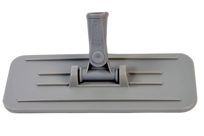 ScrubX 3079 Upright Scrubber Utility Pad Holder, Scrub Pad Holder, Plastic, Grey, 4.5 x 10