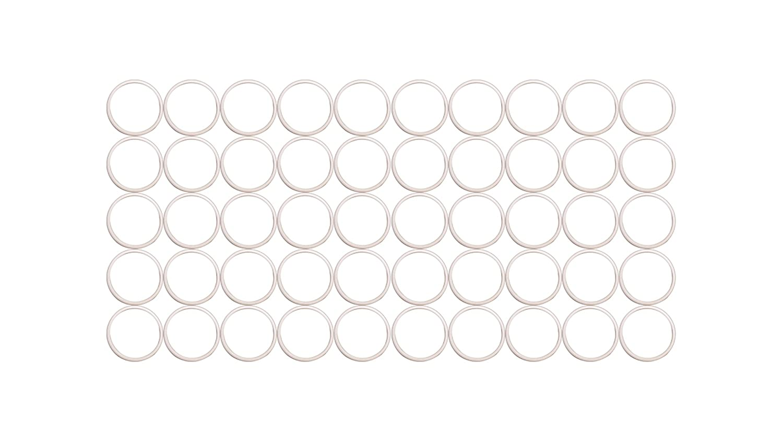 Sterling Seal ORTFE330x50 Number-330 Standard Teflon O-Ring, Outstanding Weather Resistance, Polytetrafluoro-Ethylene, 2-1/8