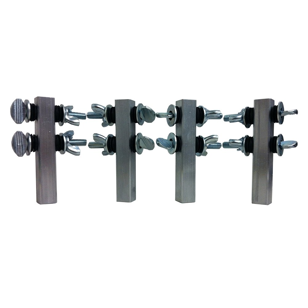 Quick-Sling QSAC1000 Accessories for Attaching to Steel, Fits The QSLG1000 and QSLG2000, 250 lb. Maximum Capacity, Aluminum, Aluminum
