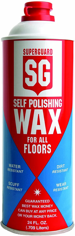 Safeguard 801 Industrial Strength Self Polishing Wax for All Floors, 24 Fluid Ounce