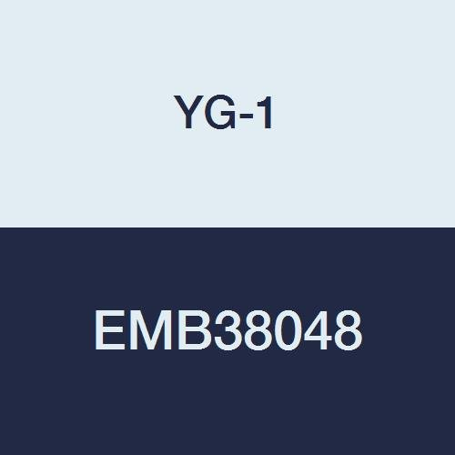 YG-1 EMB38048 Carbide V7 Mill INOX Corner Radius End Mill, 4 Flute, Regular Length, 4