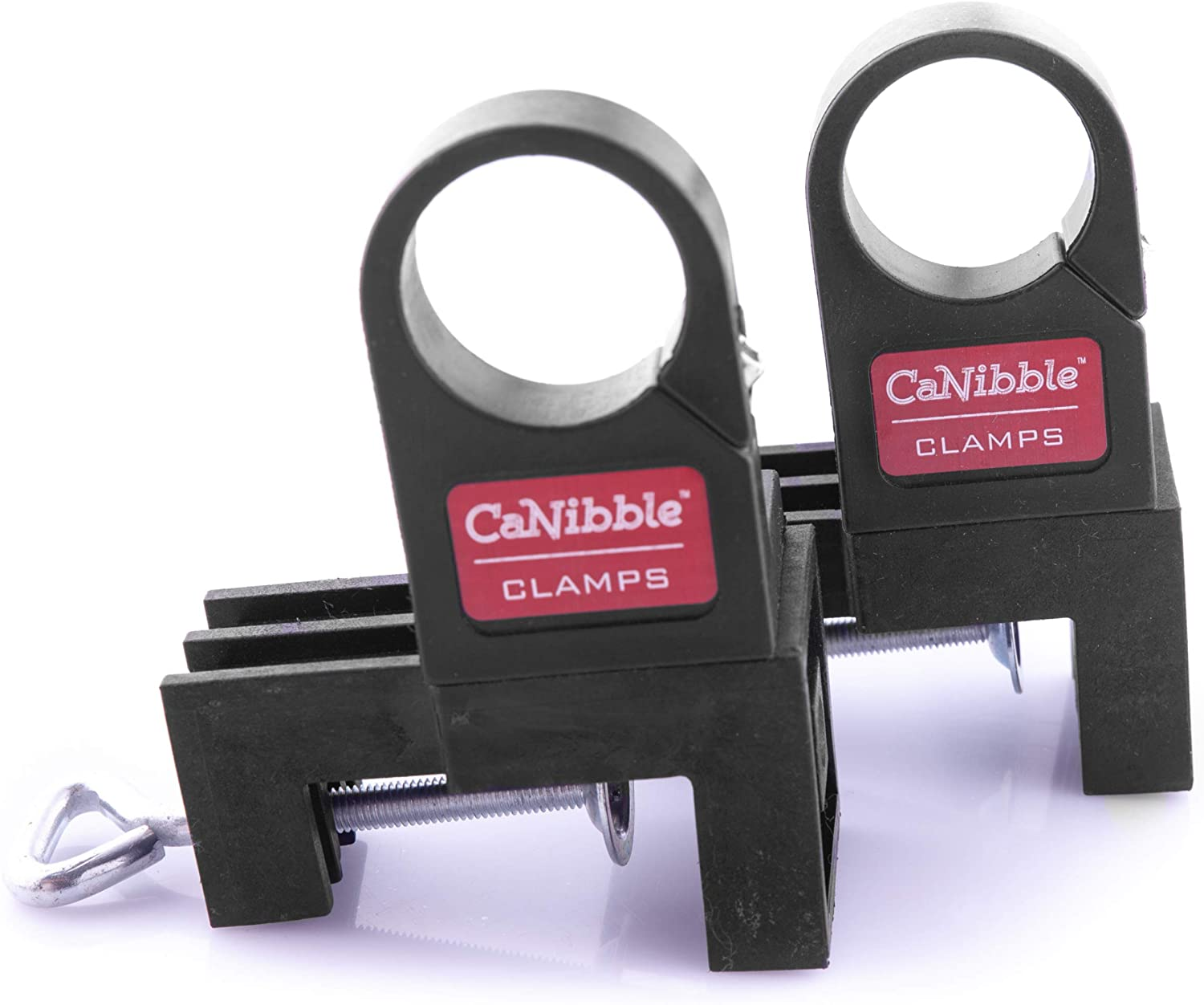 CaNibble Bench Mounting Clamps. Drill Bench Clamps. Mounts Drills and CaNibble's Nibbler to your Bench Top. Frees Your Hands For More Controlled Cutting.