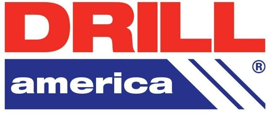 Drill America #27 HSS Polished Jobber Length Drill Bit, D/AP27