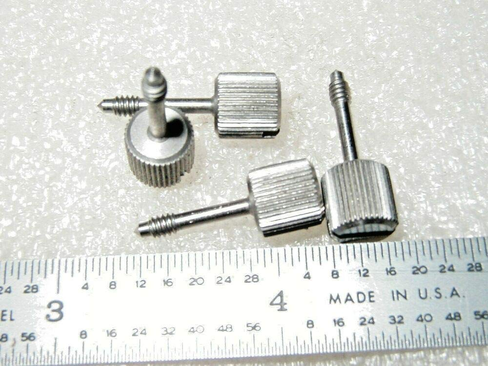 8 PCS of 4-40 X 9/16 Captive Thumb Screw Stainless RAF 0381SS