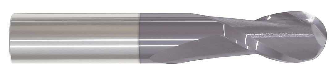 Carbide End Mill, TiAlN Coated, 0.02