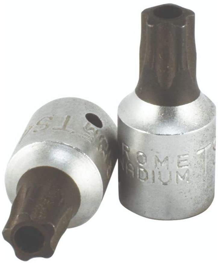 Trident T111600 9pc 5 Point Tamper Bit Set 1/4 Drive