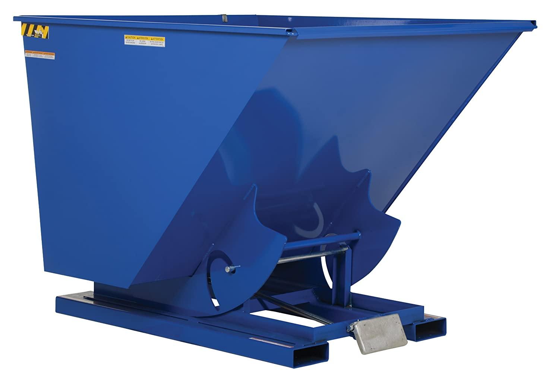 Vestil Self-Dumping Steel Hopper - Bumper Release, 2,000-lb. Capacity, 2 1/2 Cubic Yard Volume, Model Number D-250-LD