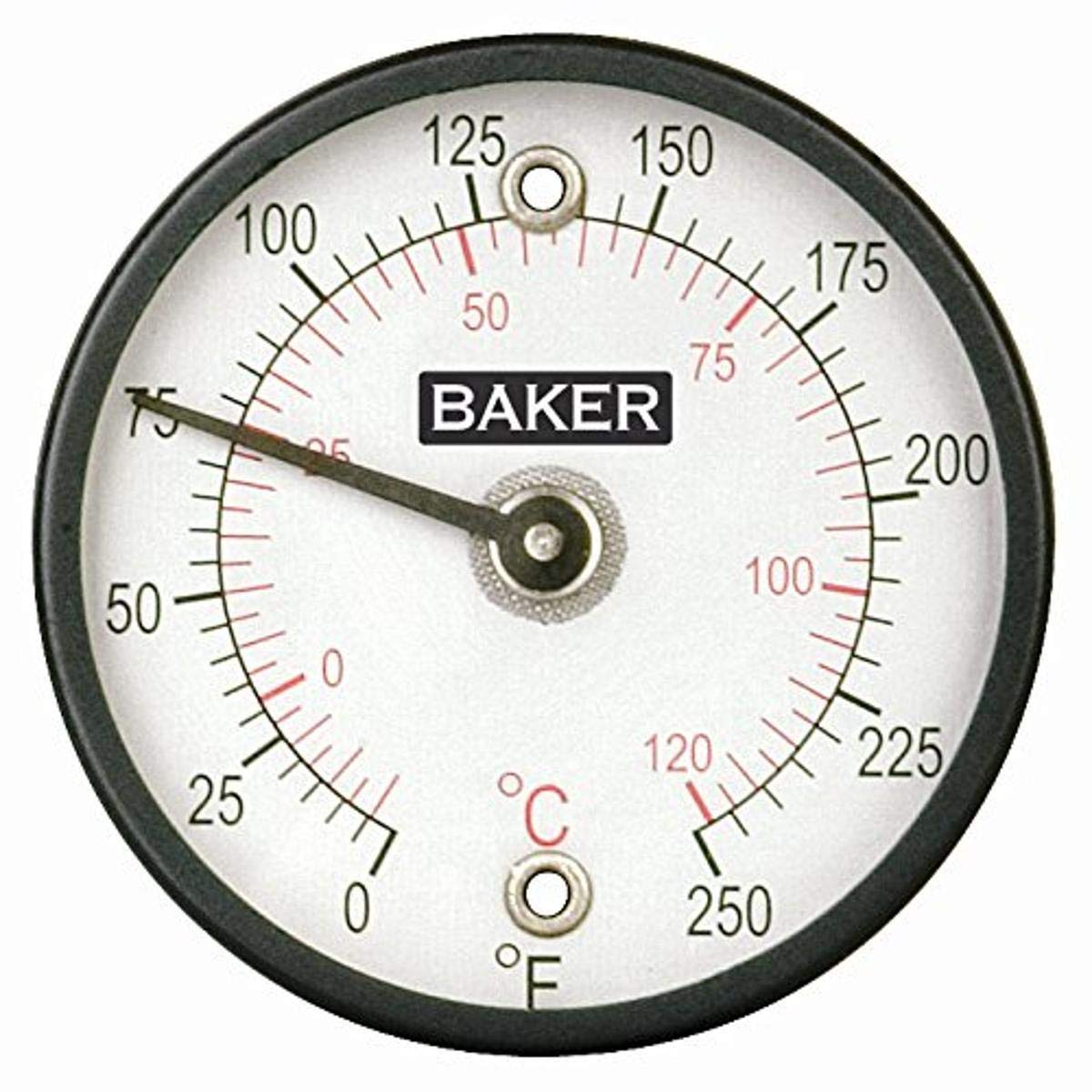 Baker Instruments 312FC Magnetic Surface Thermometer, 0 to 250°F (-20 to 120°C)