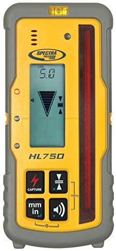 Spectra HL750 Five Accuracy Level Dual Screen LCD Laserometer Detector