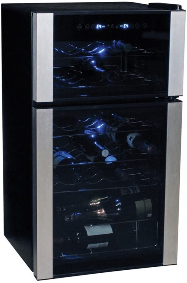 Koolatron 29 Bottle Dual Zone Wine Cellar