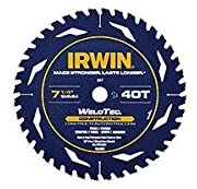 IRWIN INDUSTRIAL 1934299 SAW BLADE 7-1/4IN 40T Pack of 5