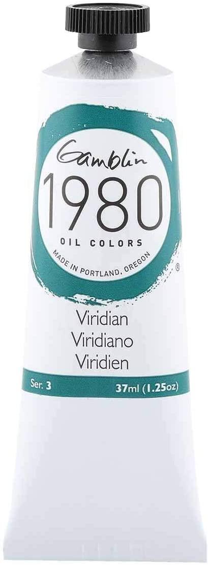 Gamblin 1980 Oil Viridian 37Ml