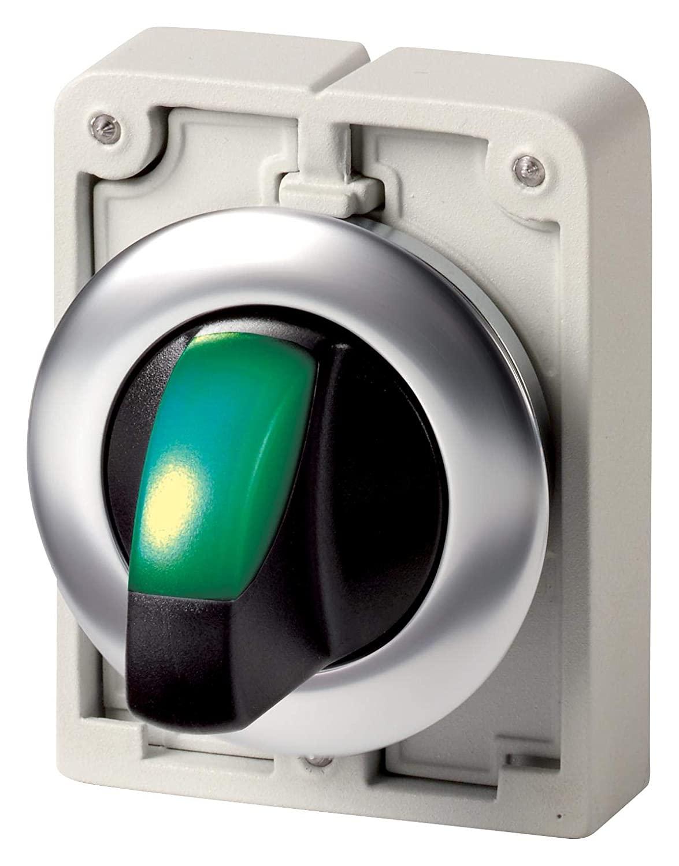 EATON CUTLER HAMMER - M30C-FWRLK3-1-G - Switch Actuator, Illum SELECTOR