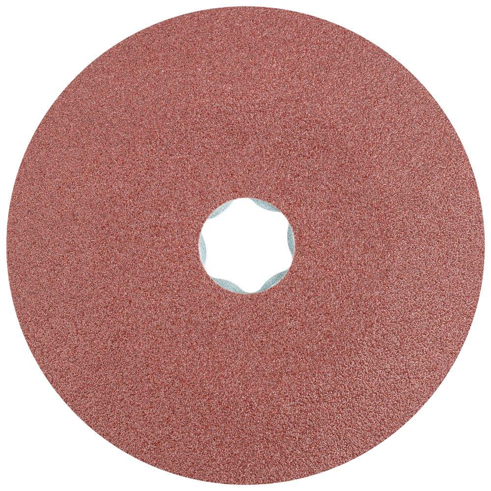 PFERD 40095 Combiclick Fibre Disc, Aluminum Oxide A Type, 4-1/2