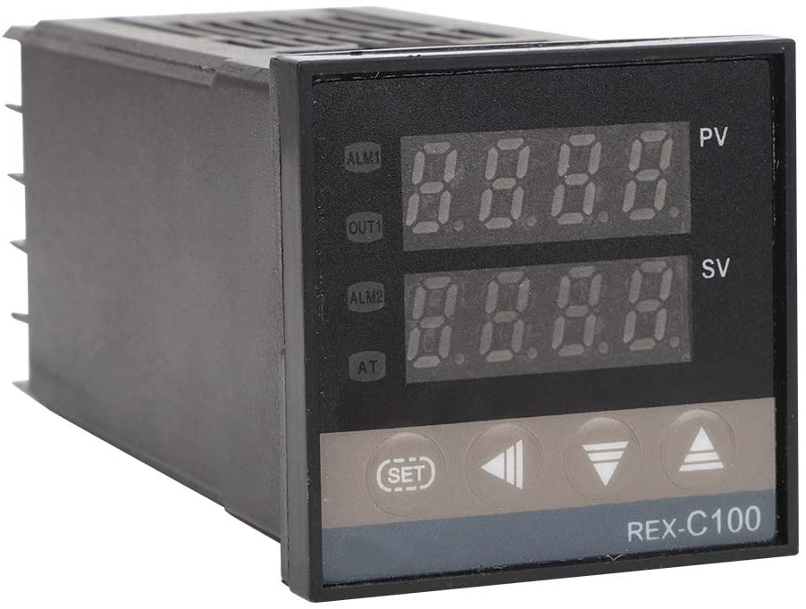 Temperature Controller, PID REX-C100 Temperature Controller 40A Solid State Relay K Thermocouple GD