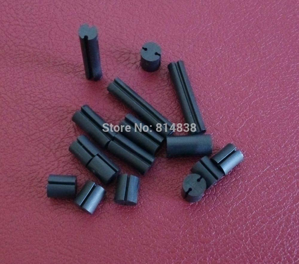 Ochoos 4x7.5 Dia. 4mm L = 7.5mm Black LED Spacer Support Hood PCB Board Mount Hardware