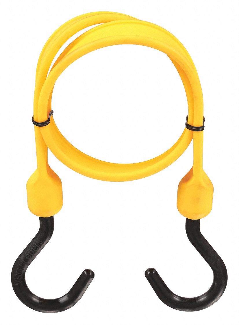 Polystrap, Yellow, 24 in. L, Nylon