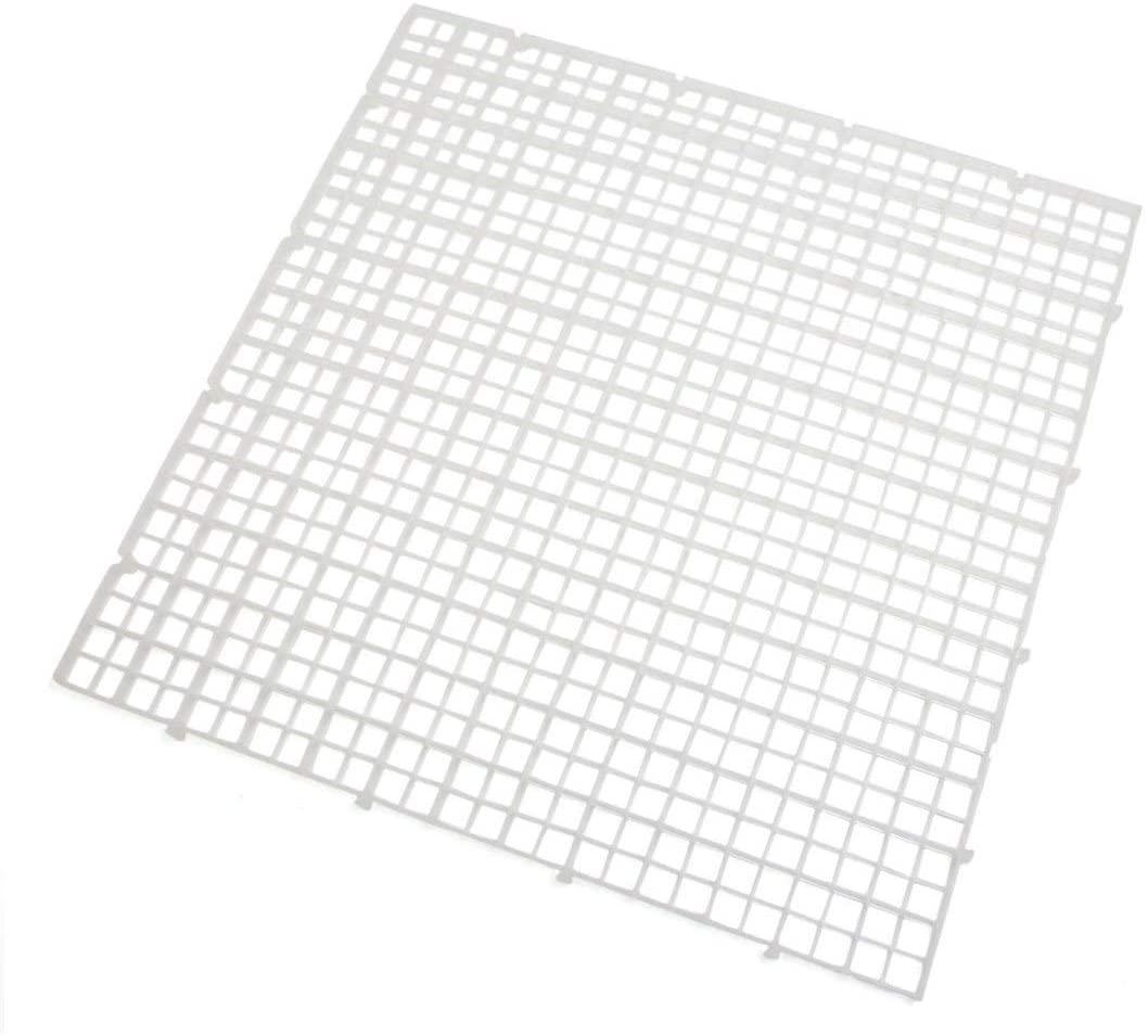HYY-YY a17080700ux0706 Aquarium Tank Clear Plastic Square Separation Board Isolation 11.8
