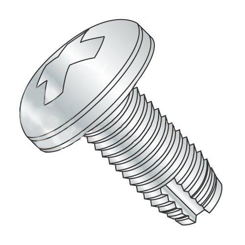 10-32 x 3/8 Type 1 Thread Cutting Screws/Phillips/Pan Head/Steel/Zinc (Carton: 8,000 pcs)