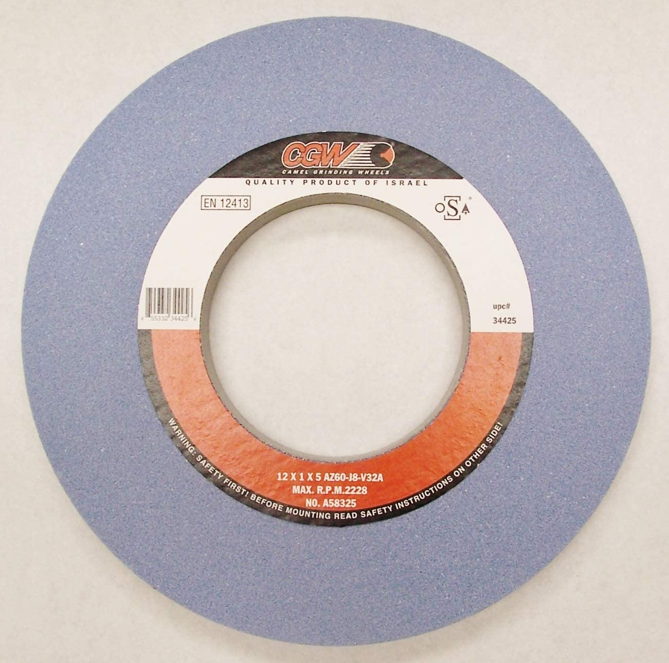CAMEL AZ Surface Grinding Wheel - Size: 12