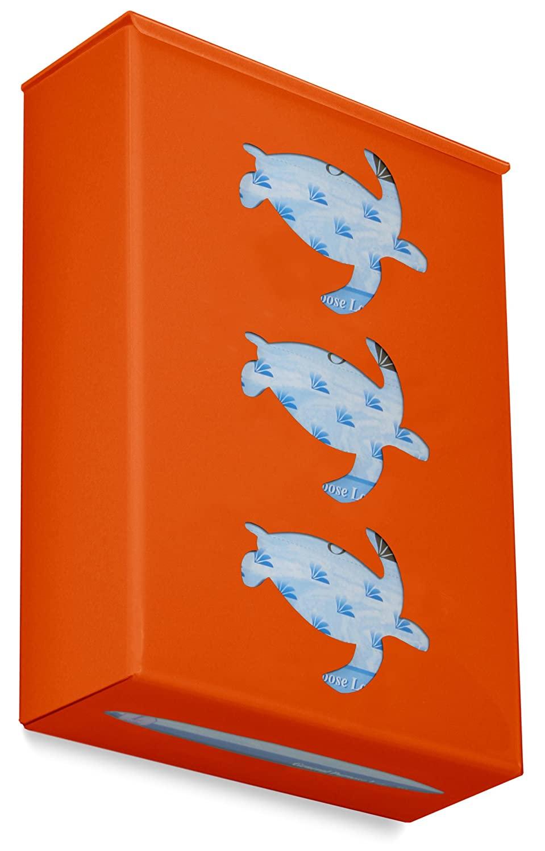 TrippNT 52213 Ultimate Sea Turtle Triple Pumpkin Orange Dual Dispensing Glove Holder , 10