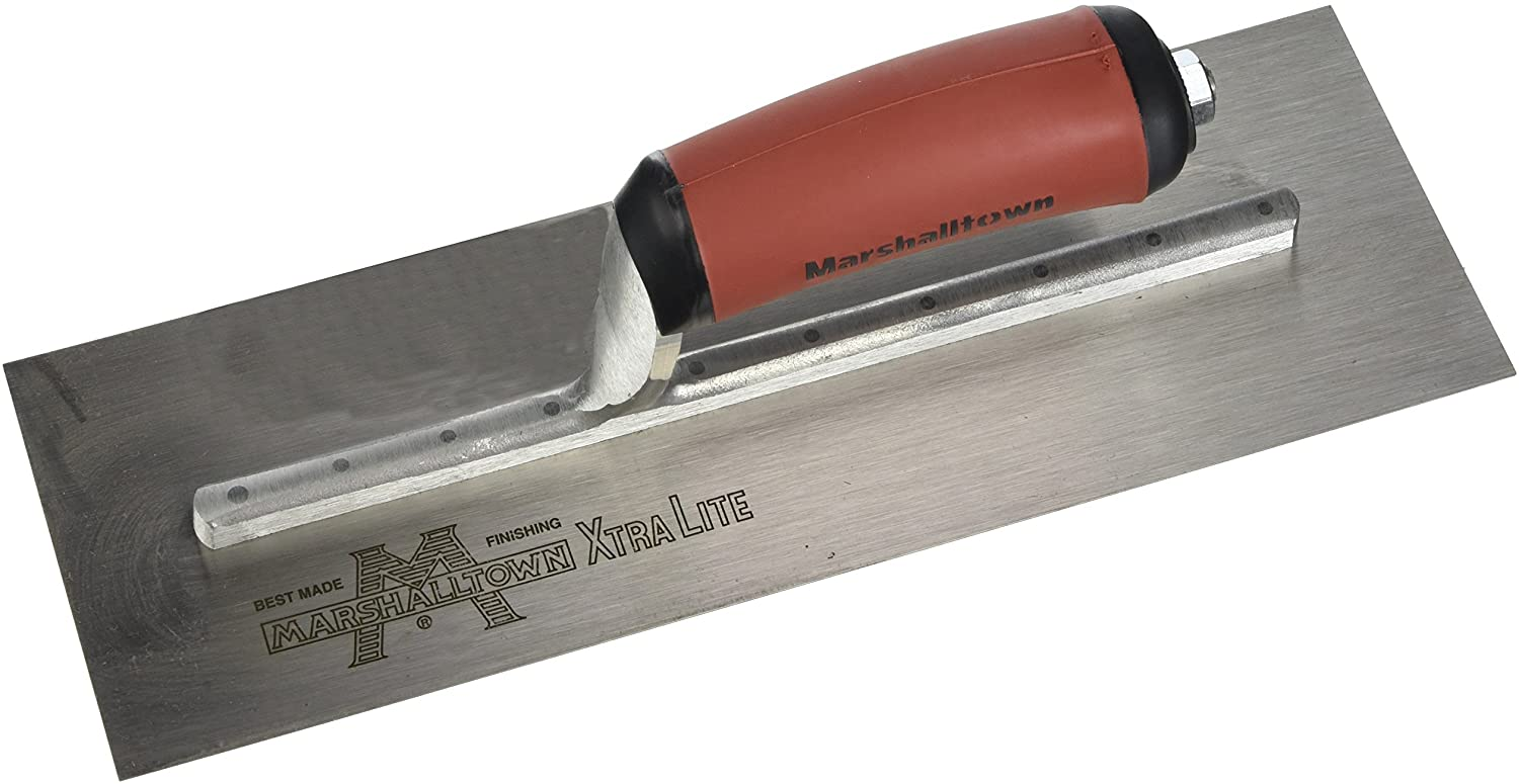 Concrete Finishing Trowel 12 X 4 Curved Handle