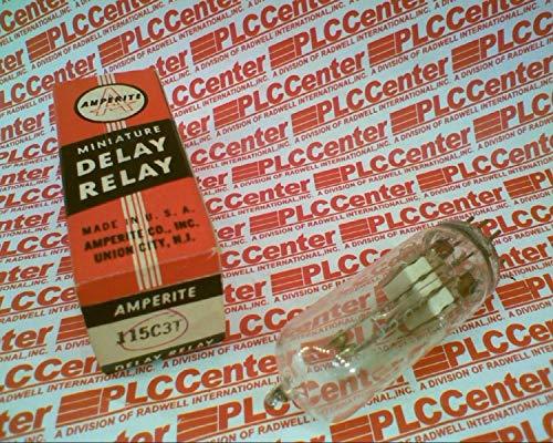 AMPERITE 115C3T TIME DELAY Relay 3A 115VAC/DC 9PIN Mini Base