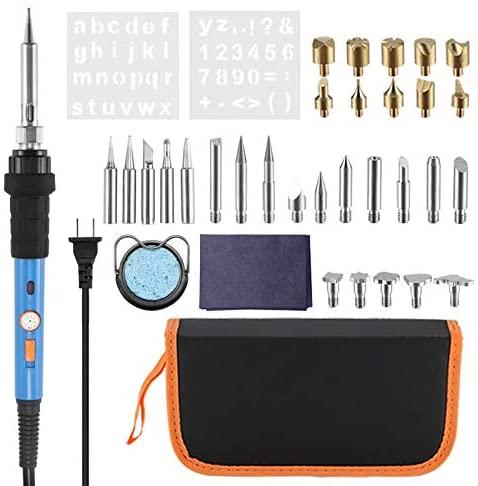 Soldering Electric Tweezers Tin Wire Soldering Iron Suction Gun Set Soldering Iron Set Adjustable Temperature Portable Welding Repair Tool - (US, Plug Type: US)