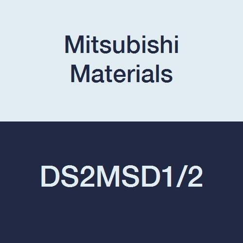Mitsubishi Materials DS2MSD1/2 DS2MS DS2SS Carbide Diamond Star Square Nose End Mill, 2 Medium Flutes, General Use, 0.5000