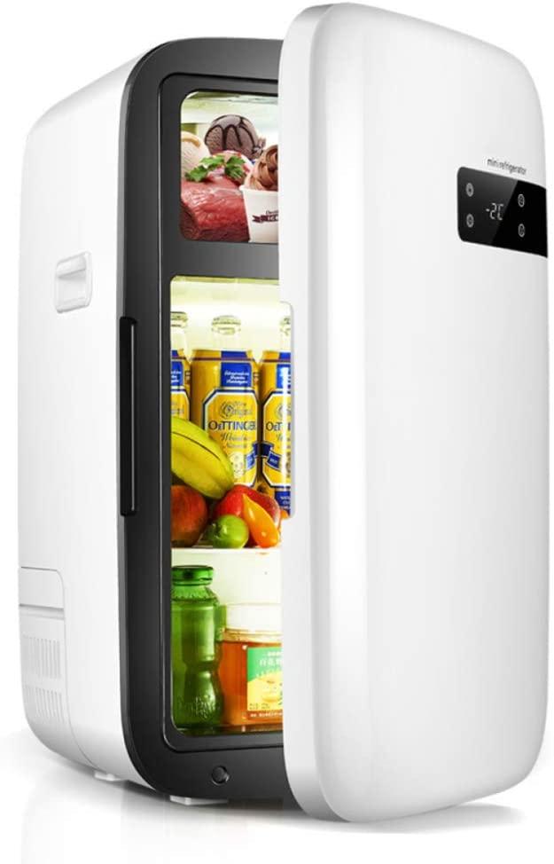 HWG Mini Fridge Car Refrigerator Single Door Freezing Preservation Frozen Box Compact Portable Safe Silent and Practical