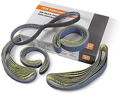 FEIN 63714050021 Polishing Belt Basic Set, Multi-Colour