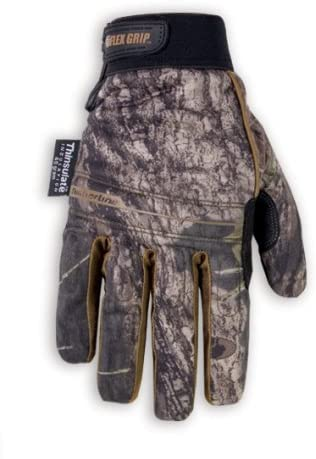 Custom Leathercraft Sportsman Mossy Oak ML125X Timberline Gloves - Size X Large