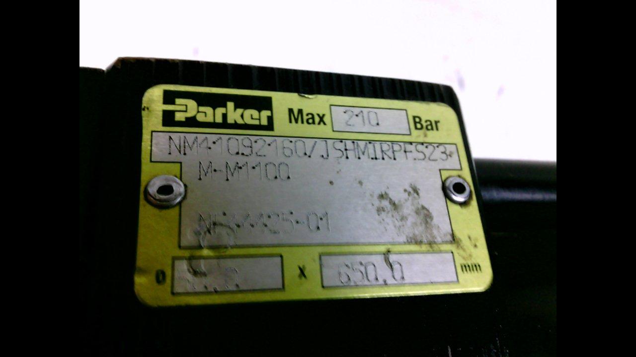Parker Nm41092160/Jshmirpfs23 M-M1100 Pneumatic Cylinder 210 Bar Nm41092160/Jshmirpfs23 M-M1100