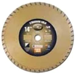 Diamond Products Core Cut 15584 20-Inch by 0.140 by 1-Inch Standard Gold Turbo Blade