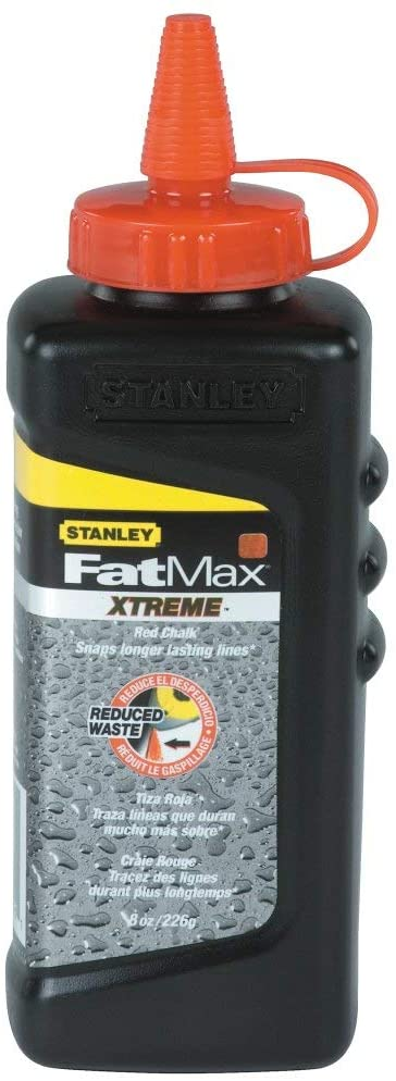 Stanley Fat Max 47-821 8 Oz Red Chalk Refill