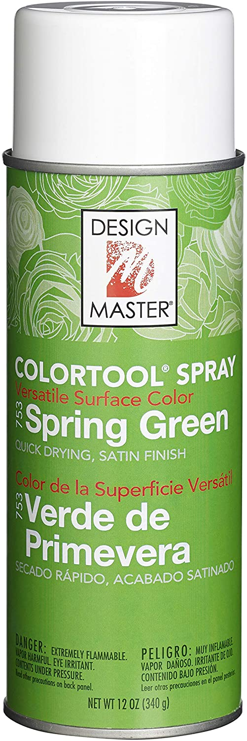 DESIGN MASTER 753 Spray Paint, Spring Green