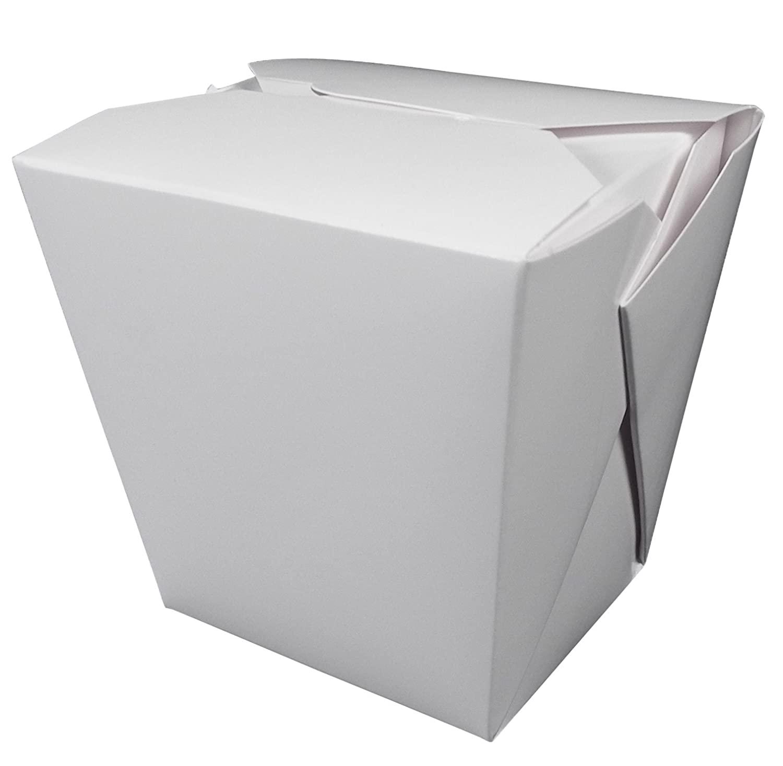 Fold-Pak 32MWWHITEM Paper Microwaveable Food Pail, 3-3/8