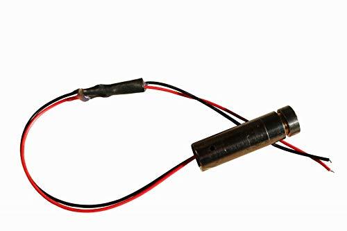 Qiaoba Laser Module Violet Purple Laser Diode 405nm (Industrial Violet DOT Laser)405nm