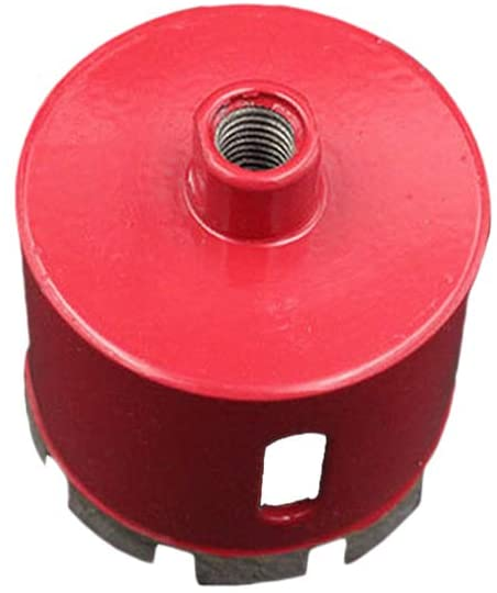 Hole Saw Drill Bits for Glass Marble Ceramic Tile or Granite Electric Drill Tools Accessories (Red)