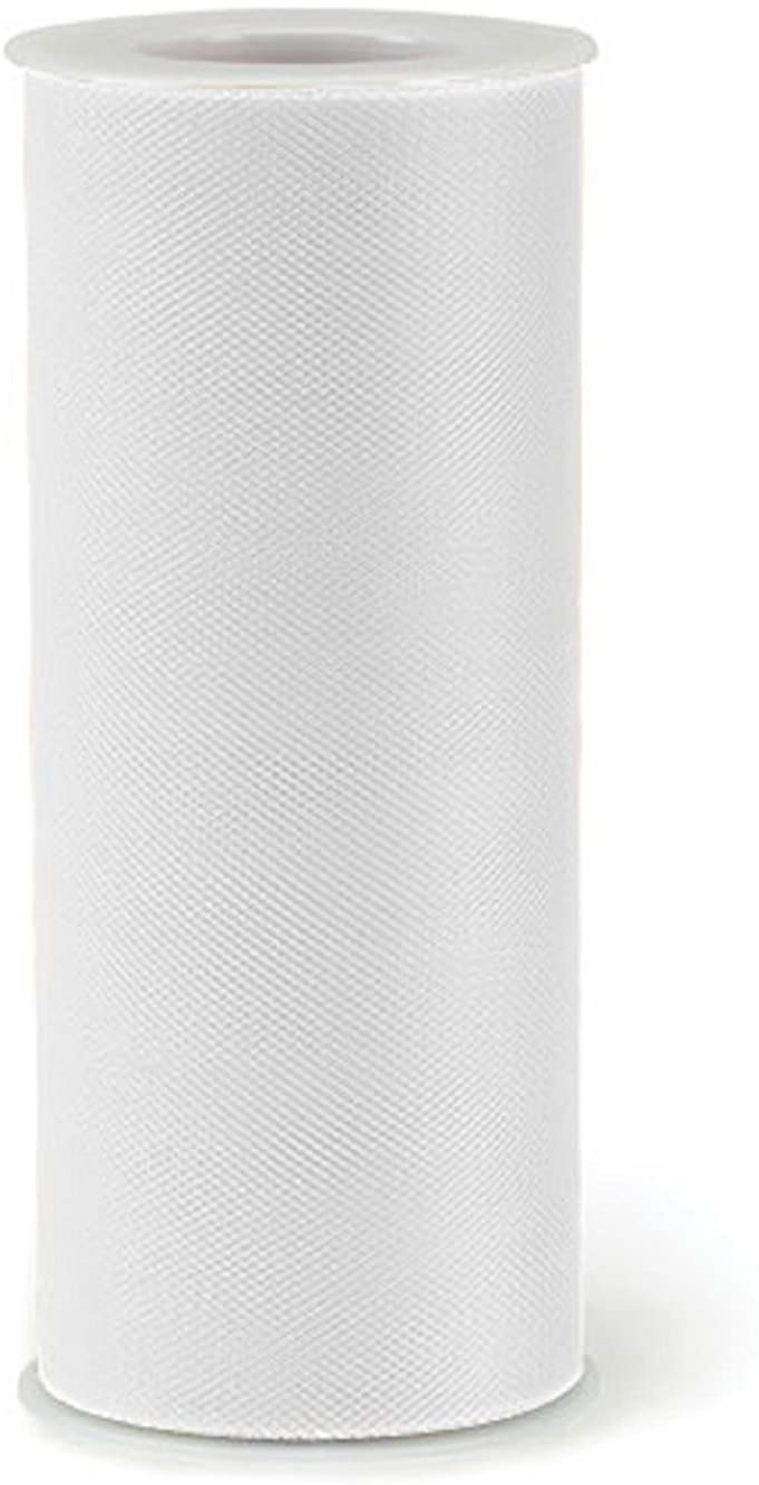 White Tulle Fabric 6