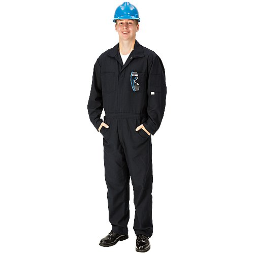 TOPPS SAFETY CO07-5605- Tall/48 CO07-5605 NOMEX Coverall, 6 oz, Tall/Size 48, 5-11 1/2 to 6-3, Navy Blue