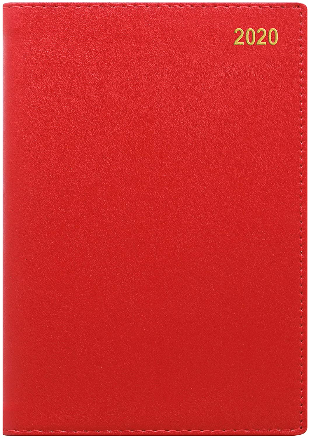 Letts Belgravia Week to View 2020 Planner, Red, 4.25 x 2.75 inches (C33ERD-20)